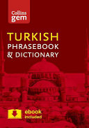 Collins Gem Turkish Phrasebook and Dictionary PDF