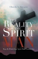 THE REALITY OF THE SPIRIT MAN PDF
