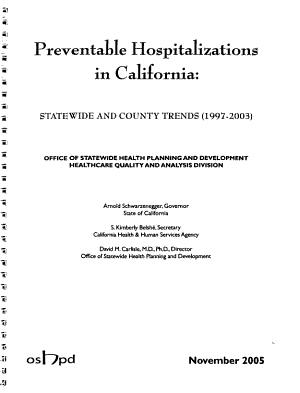 Preventable Hospitalizations in California