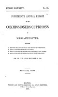 Annual Report of the Commissioners of Prisons of Massachusetts     PDF