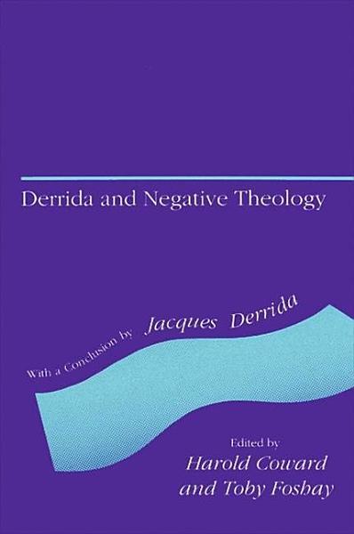 Derrida and Negative Theology PDF