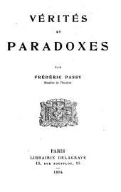 Vérité et paradoxes