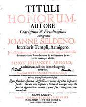 Tituli honorum