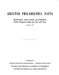 Greater Philadelphia Facts PDF