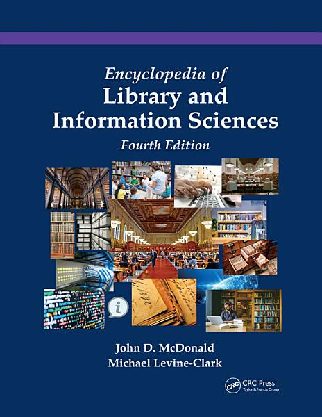 Download Encyclopedia of Library and Information Sciences Book