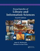 Encyclopedia of Library and Information Sciences PDF