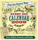 The Old Farmers Almanac Every Day 2009 Calend PDF