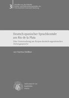 Deutsch spanischer Sprachkontakt am Rio de la Plata PDF