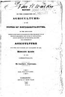 Report of the Committee on Agriculture PDF
