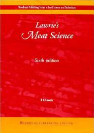 Lawrie S Meat Science  Sixth Edition