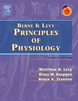 Berne   Levy Principles of Physiology E Book PDF