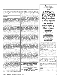 Africa Special Report PDF