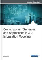Contemporary Strategies and Approaches in 3 D Information Modeling PDF