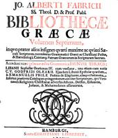 Bibliotheca graeca...