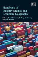 Handbook of Industry Studies and Economic Geography PDF