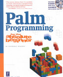 Palm Programming For The Absolute Beginner Book PDF