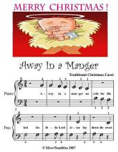 Away In a Manger - Beginner Tots Piano Sheet Music