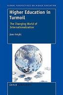 Higher Education in Turmoil PDF