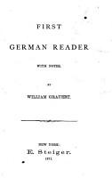 Ahn s first German reader PDF