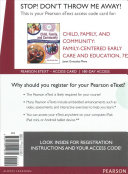 Child, Family, and Community Pearson Etext Access Card