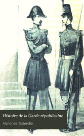 Histoire de la Garde républicaine