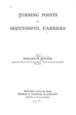 Turning Points in Successful Careers PDF