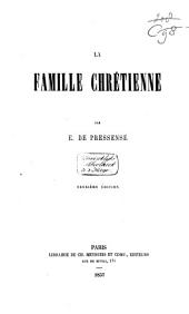 La famille chrétienne