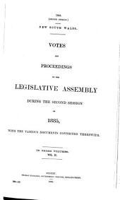 Votes & Proceedings: Volume 2