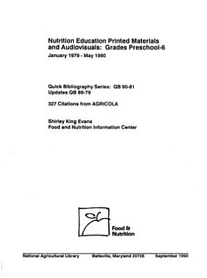 Nutrition Education Printed Materials and Audiovisuals PDF