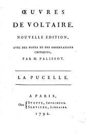 La Pucelle d'Orleans. La guerre civile de Genève, ou, Les amours de Robert Covelle