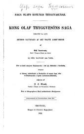 Saga Olafs konungs Tryggvasunar