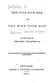 The Poor Rich Man and the Rich Poor Man