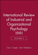 International Review of Industrial and Organizational Psychology 1991 PDF