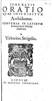 Oratio quae inscribitur Archidamus