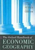 The Oxford Handbook of Economic Geography PDF