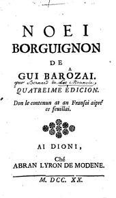 Noei borguinon de Gui Barôzai [pseud.]