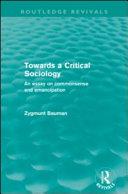 Towards a Critical Sociology