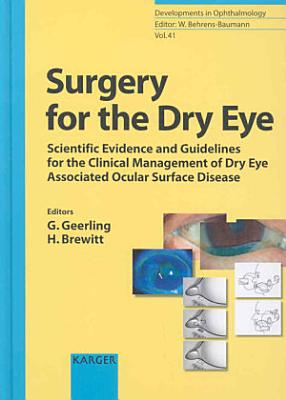 Surgery for the Dry Eye