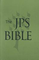 The JPS Bible  Pocket Edition  moss  PDF