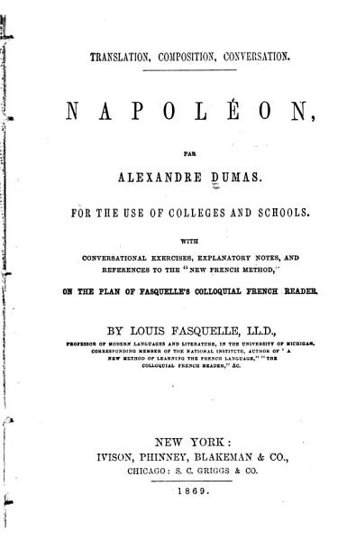 Download Napol  on  For the Use of Colleges and Schools Book