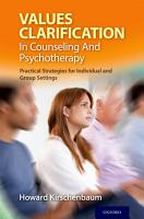 Values Clarification in Counseling and Psychotherapy PDF