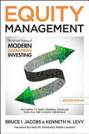 Equity Management  The Art and Science of Modern Quantitative Investing  Second Edition PDF