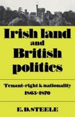 Irish Land and British Politics