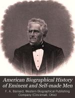 American Biographical History of Eminent and Self-made Men