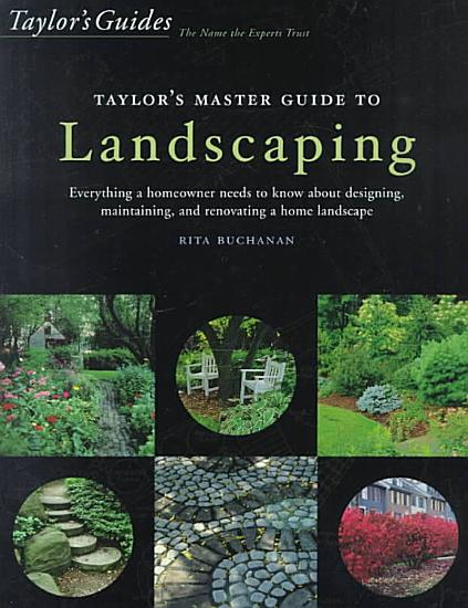 Taylor s Master Guide to Landscaping PDF