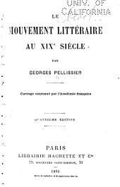 Le mouvement littéraire au XIX siècle