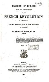 History of Europe from the Commencement of the French Revolution in 1789 to the Restauration of the Bourbons in 1815: Volume 4