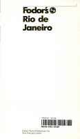 Fodor s Rio de Janeiro  1990 PDF