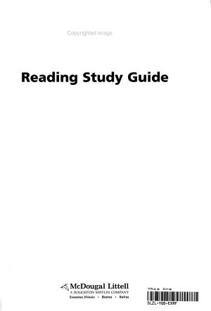 World History Patterns Of Interaction Grades 9 12 Reading Study Guide