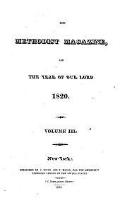 The Methodist Review: Volume 3